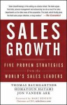 Sales Growth: Five Proven Strategies from the World's Sales Leaders - Thomas Baumgartner, Homayoun Hatami, Jon Vander Ark