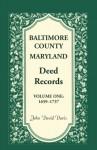 Baltimore County, Maryland, Deed Records, Vol. 1: 1659-1737 - John Davis