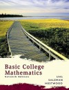 Basic College Mathematics Value Pack (Includes Math Study Skills & My Math Lab/My Stat Lab Student Access Kit ) - Margaret L. Lial, Stanley A. Salzman, Diana L. Hestwood