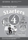 Cambridge Young Learners English Tests Starters 4 Answer Booklet: Examination Papers from the University of Cambridge ESOL Examinations - Cambridge ESOL