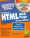 The Complete Idiot's Guide to Creating HTML Web Page - Paul McFedries