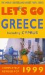 Let's Go Greece 1999 - Let's Go Inc.