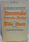 Yonnondio From The Thirties - Tillie Olsen