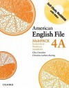 American English File Level 4: Student Book/Workbook Multipack A - Clive Oxenden, Paul Seligson, Christina Latham-Koenig