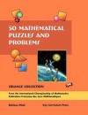 50 Mathematical Puzzles and Problems: Orange Collection - Gilles Cohen