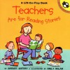 Teachers are for Reading Stories (Lift-the-Flap, Puffin) (Lift-the-Flap, Puffin) - Harriet Ziefert, Emily Bolam
