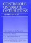 Continuous Univariate Distributions, Vol. 1 - Norman Lloyd Johnson, N. Balakrishnan, Samuel Kotz