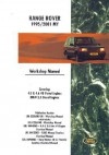 Range Rover 1995/2001 My Workshop Manual: Covering: 4.0 & 4.6 V8 Petrol Engines BMW 2.5 Diesel Engines - Brooklands Books Ltd