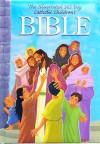 The Illustrated 365 Day Catholic Childrens Bible - Judith Bauer, Gustavo Mazali