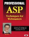 Professional ASP Techniques for Webmasters - Alex Homer