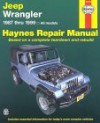 Haynes Jeep Wrangler: 1987 Thru 1999 - Motorbooks International, John Harold Haynes