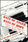 Days of Anger, Days of Hope: A Memoir of the League of American Writers, 1937-1942 - Franklin Folsom