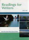 Custom Enc 1101: Readings For Writers, Indian River State College Special Edition (Access Card With New Books Only) [IRSC] - Jo-Ray McCuen-Metherell, Anthony C. Winkler