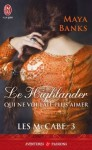 Le Highlander qui ne voulait plus aimer - Maya Banks