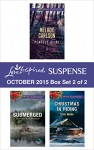 Love Inspired Suspense October 2015 - Box Set 2 of 2: Perfect AlibiSubmergedChristmas in Hiding - Melody Carlson, Elizabeth Goddard, Cate Nolan