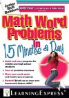 Math Word Problems in 15 Minutes a Day [With Access Code] - Learning Express LLC