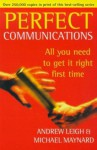 Perfect Communications - Michael Maynard, Andrew Leigh