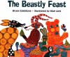 The Beastly Feast - Bruce Goldstone, Blair Lent