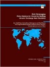 Exit Strategies: Policy Options for Countries Seeking Greater Exchange Rate Flexibility - Barry Eichengreen, Paul R. Masson