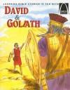 David &Amp; Goliath: 1 Samuel 17 For Children - Martha Streufert Jander