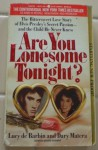 Are You Lonesome Tonight - Lucy De Barbin, Dary Matera