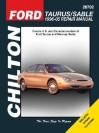 Chilton Ford Taurus/Sable, 1996 05 Repair Manual (Chilton's Total Car Care Repair Manual) - Eric Mihalyi