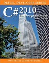 C# 2010 for Programmers (Deitel Developer Series) - Paul J. Deitel, Harvey M. Deitel
