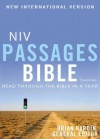 NIV Passages Bible: Read through the Bible in a Year - Brian Hardin