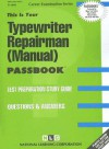 Typewriter Repairman (Manual): Test Preparation Study Guide, Questions & Answers - National Learning Corporation
