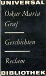 Geschichten - Oskar Maria Graf