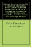 US Army, Technical Manual, TM 9-4120-398-14, OPERATOR, UNIT, DIRECT SUPPORT AND GENERAL SUPPORT MAINTENANCE FOR AIR CONDITIONER, 54,000 BTU/HR, 208/230 ... field manuals when you sample this book - U.S. Army, Delene Kvasnicka of survival ebooks, U.S. Department of Defense, U.S. Military, U.S. Government, Pentagon U.S. Military