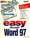 Easy Microsoft Word 97 - Sherry Willard Kinkoph Gunter