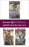 Harlequin Historical August 2015 - Box Set 2 of 2: Sequins and SpursRake Most Likely to ThrillThe Captain's Frozen Dream - Cheryl St.John, Bronwyn Scott, Georgie Lee