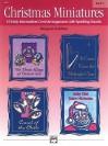 Christmas Miniatures, Bk 2 - Margaret Goldston
