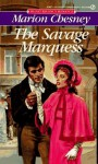 The Savage Marquess - Marion Chesney