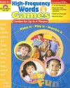 High-Frequency Words: Games, Grades K-1: Level A: Centers for Up to 6 Players - Camille Liscinsky