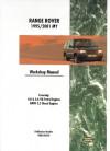 Range Rover 1995-2001 Workshop Manual - Brooklands Books Ltd