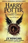 Harry Potter and the Cursed Child - Parts I and II (English)(Hardcover) - John Tiffany & J K Rowling Jack Thorne