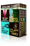 RAFFERTY & LLEWELLYN SERIES BOXED SET: BOOKS 1 TO 4: British Mystery Series (Rafferty & Llewellyn British MysterySeries) - Geraldine Evans