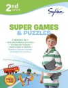 Second Grade Super Games & Puzzles (Sylvan Super Workbooks) - Sylvan Learning