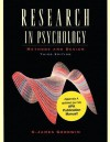 Research in Psychology: Methods and Design, Update - C. James Goodwin