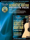 Fender Presents Getting Started on Acoustic Guitar - Premium Pack - Keith Wyatt