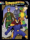 Superheroes Stained Glass Coloring Book - Ted Rechlin