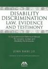 Discrimination Disability Law, Evidence, Testimony - John Parry