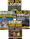 Bug Out 4-Box Set: Bug Out Location, Bug Out Vehicle, Disaster Survival, Everyday Carry Guide - Bo Armstrong, Matt Striker, Chris Bower