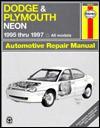 Haynes Dodge and Plymouth Neon, 1995-1997 - Ed Scott