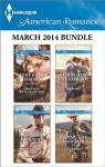 Harlequin American Romance March 2014 Bundle: The Texas Wildcatter's BabyMost Eligible SheriffAiming for the CowboyRoping the Rancher - Cathy Gillen Thacker, Cathy McDavid, Mary Leo, Julie Benson