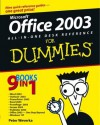 Office2003 All-in-One Desk Reference For Dummies - Peter Weverka