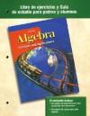 Algebra Libro de Ejercicios y Guia de Estudio Para Padres y Alumnos: Concepts and Applications - Glencoe/McGraw-Hill