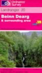 Beinn Dearg and Surrounding Area (Landranger Maps) - Ordnance Survey